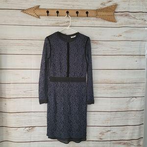 Day Birger et Mikkelsen | Waves Lace Velvet Dress